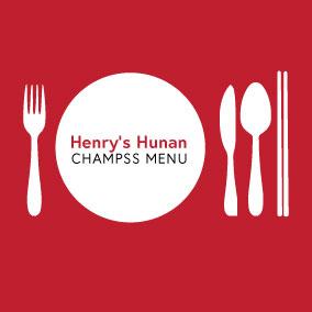Henry's Hunan Champss Menu